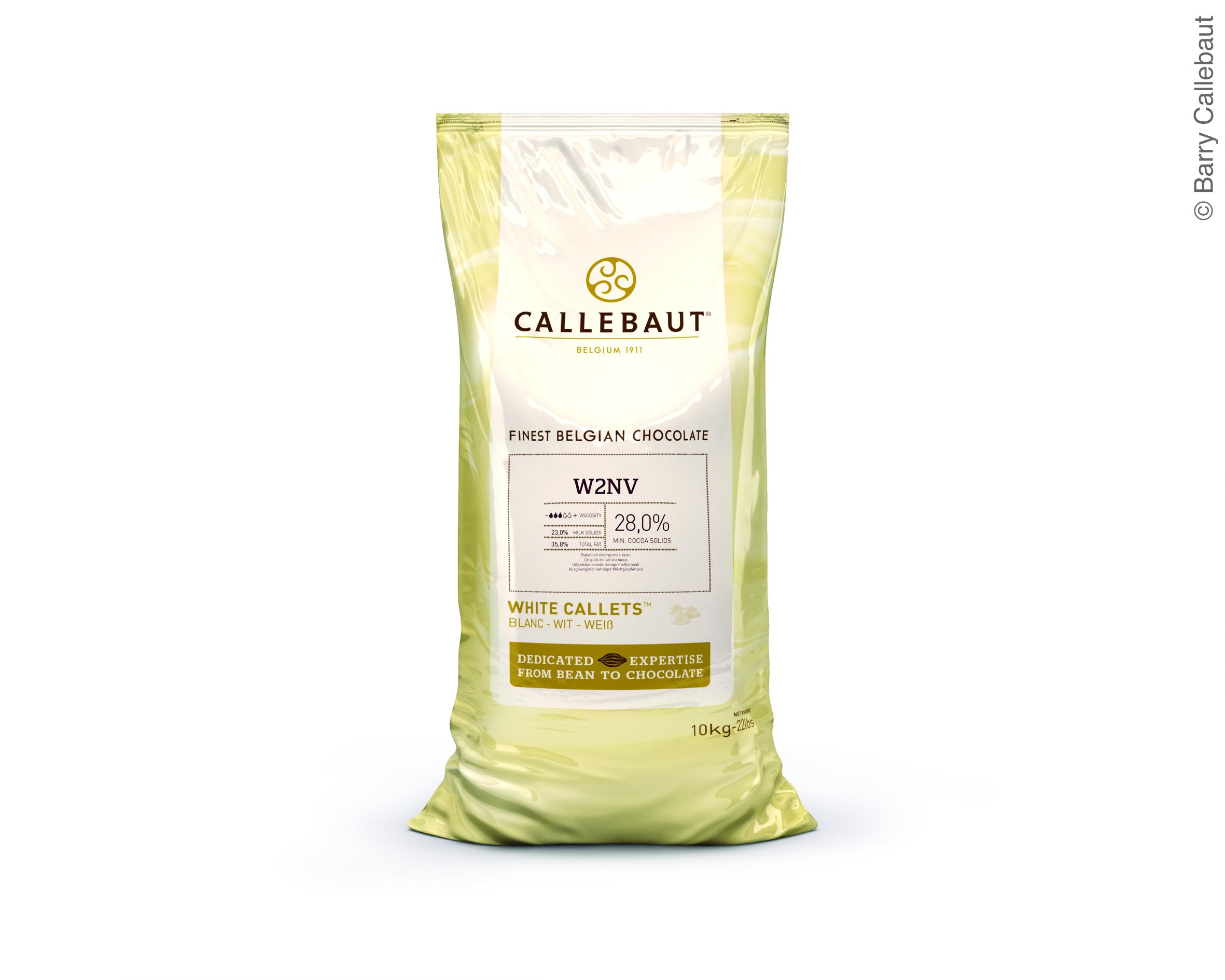Weiße Schokolade Für Den Schokoladenbrunnen Von Callebaut